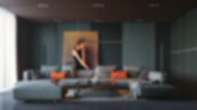 orange-and-black-interior-artwork-ideas.