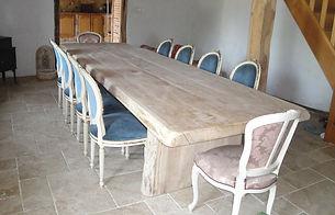table monastère en bois massif