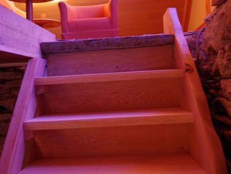 L'escalier est monté!