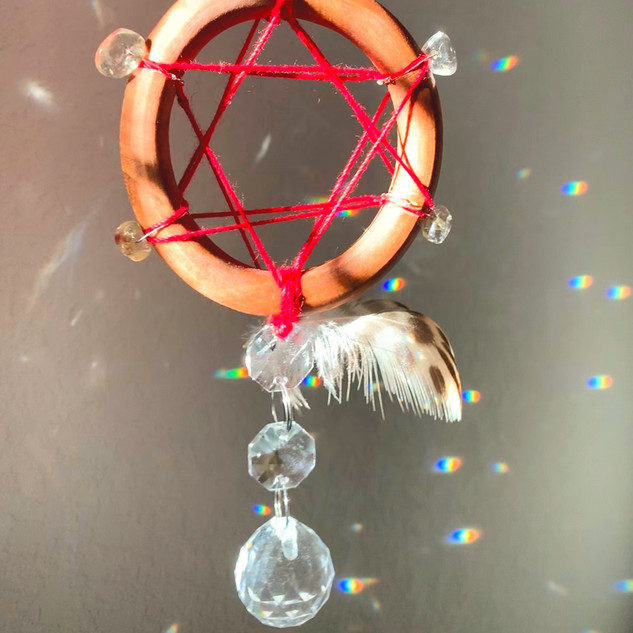Four Element Magen Suncatcher