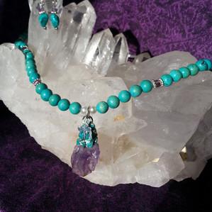 Chai Amethyst Turquoise