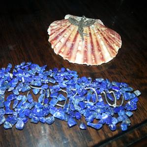 Shechinah with Lapis Lazuli