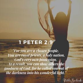 1 Peter 2:9 - Chosen