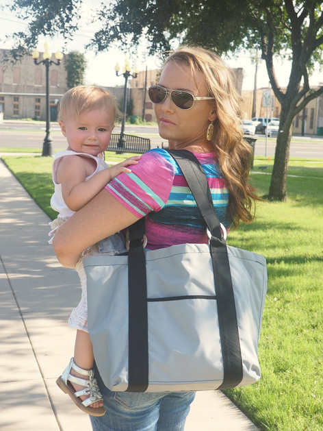 Healthy Tote in Gray