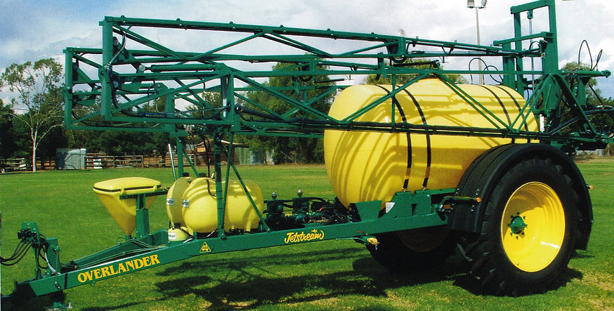 Overlander, sprayer, pump, Jetstream, Farm machinery