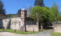 L'entrée château de Honcourt