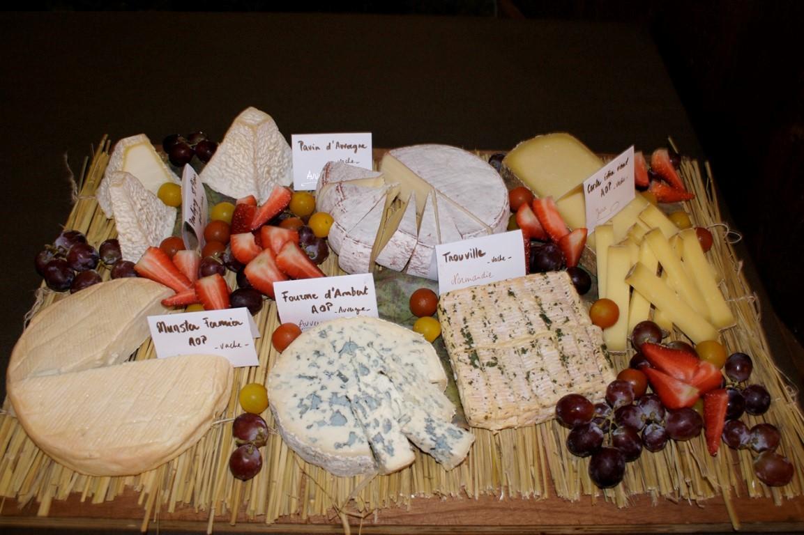 plateau de fromage, dujardin-traiteu