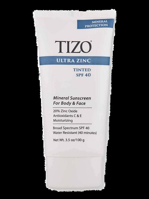 TIZO Ultra Zinc Tinted Face and Body - SPF 40