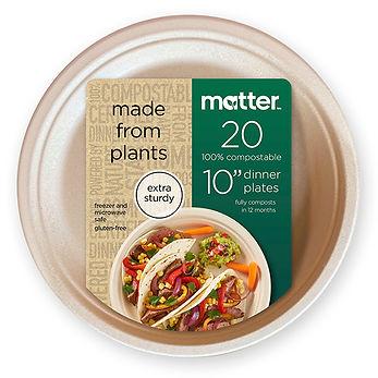 Target Matter 10%22 Dinner Plate wFront