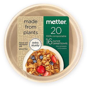 Target Matter 16oz Cereal Bowl wFront La