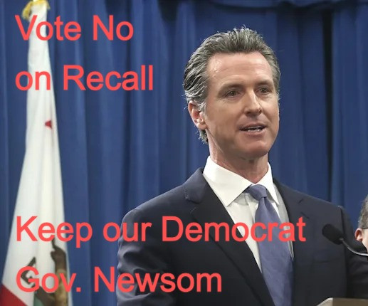One Month Out - Vote No on Republican Recall