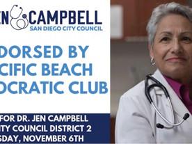 PB Dems Endorse Jennifer Campbell