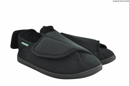 Gents Slipper - George Black Size 10