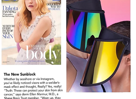 "Named ""The New Sunblock"" by SHAPE Magazine"