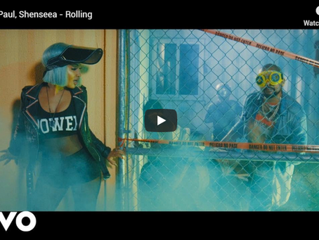 "Sunshields are electric in Sean Paul's new music video ""Rolling"""