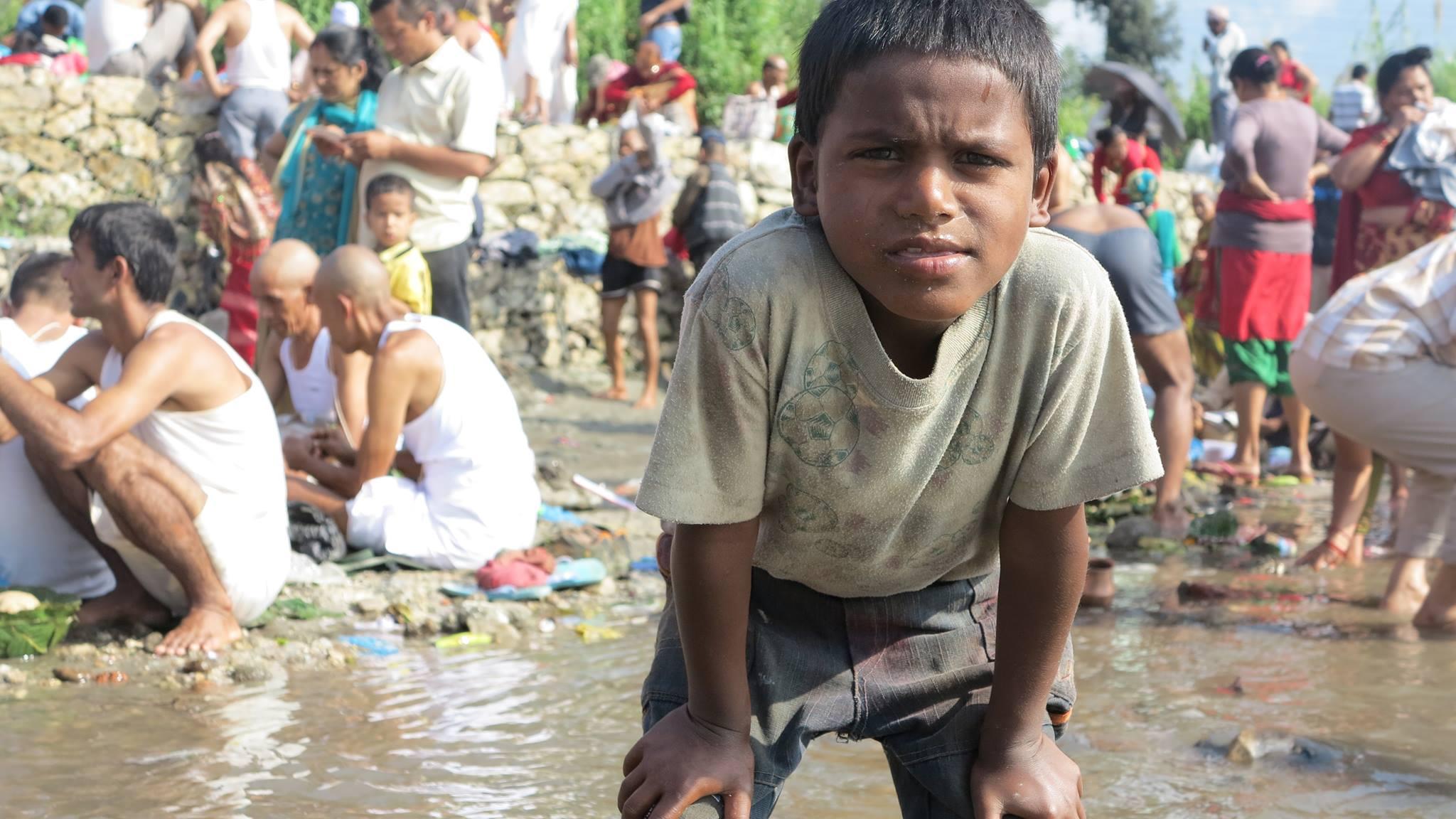 Nepalese Hindu boy