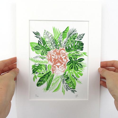 'Hakuna Matata' Limited Edition Linocut Print