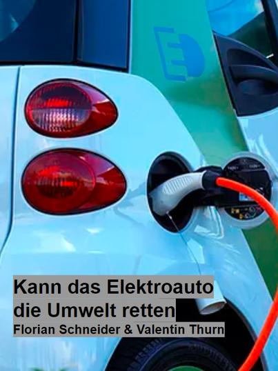 Kann das Elektroauto die Umwelt retten.p