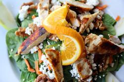 Organic Spinach Salad