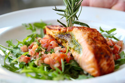 Pesto Stuffed Salmon