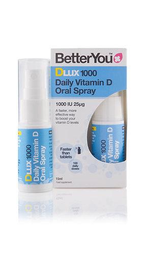 Better You DLux 1000 Витамин D – пероральный спрей
