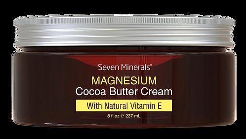Seven Minerals Крем от растяжек. Магний + масло какао
