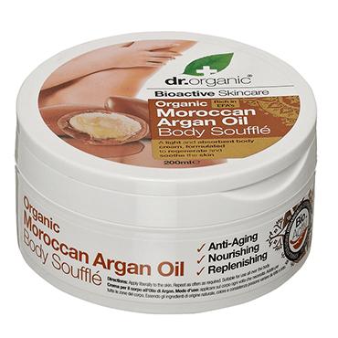 Dr Organic Крем-суфле для тела с аргановым маслом