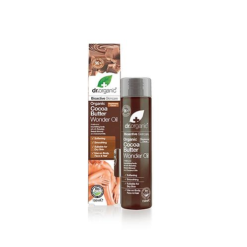 Dr Organic Cocoa Butter Умное масло для лица, тела, волос