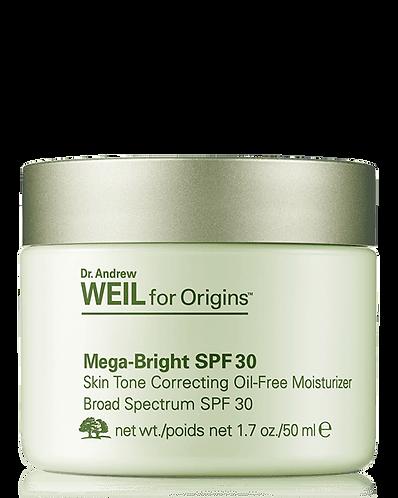 ORIGINS Mega-Bright Осветляющий крем с увлажняющим эффектом SPF 30