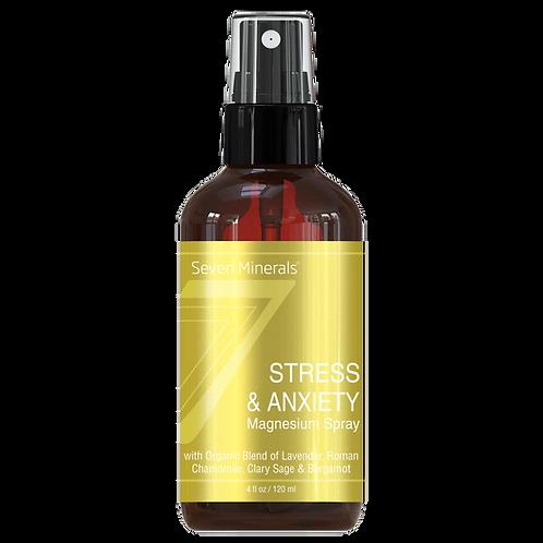 Seven Minerals Cпрей с магнием против стресса и тревожности