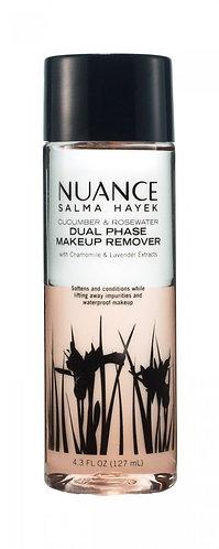 Nuance Salma Hayek 2-Фазная жидкость для снятия макияжа. Огурец и розовая вода.