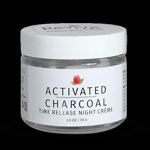 Reviva Labs Activated Charcoal Ночной крем с активированным углем