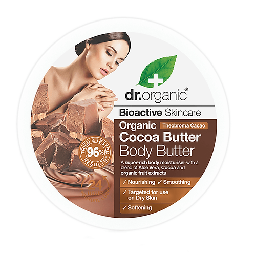 Dr Organic Cocoa Butter Масло для тела