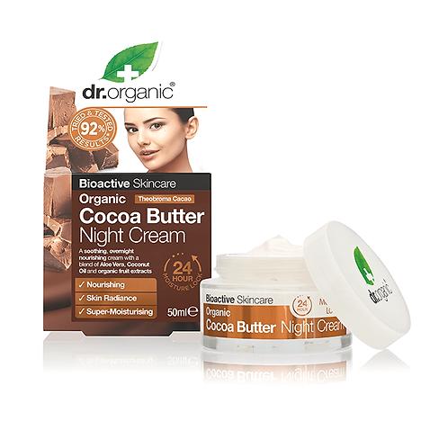 Dr Organic Cocoa Butter Ночной крем