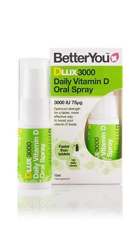 Better You DLux 3000 Витамин D – пероральный спрей