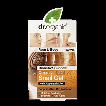 Dr Organic Гель с экстрактом улиточной слизи