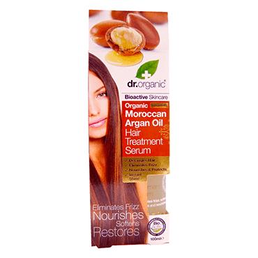 Dr Organic Сыворотка-уход для волос с аргановым маслом