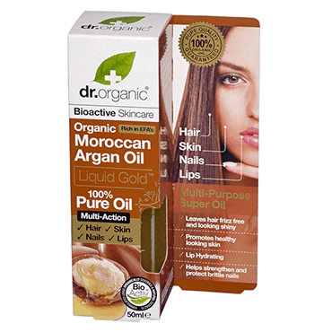 Dr Organic Аргановое масло органическое.