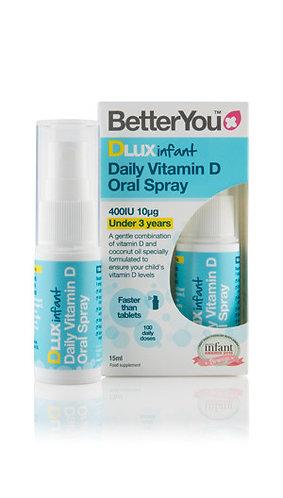 Better You DLux Infant. Витамин D для детей до 3 лет - пероральный спрей