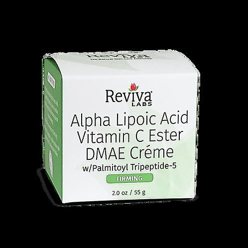 Reviva Labs Крем с альфа-липоевой кислотой, витамином С, ДМАE