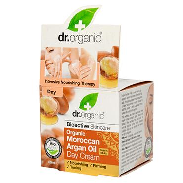 Dr Organic Дневной крем с аргановым маслом