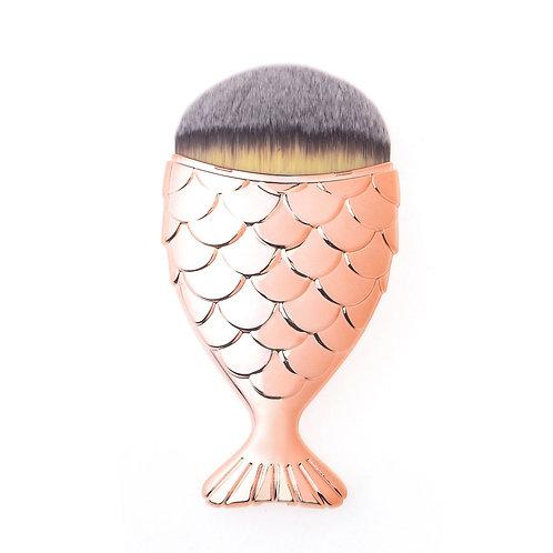 Mermaid Salon Контурная кисть для макияжа THE ORIGINAL CHUBBY Pink Gold