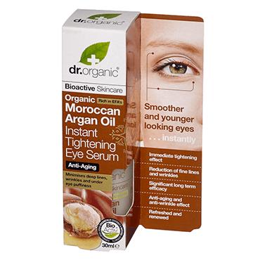 Dr Organic Сыворотка для кожи вокруг глаз с аргановым маслом