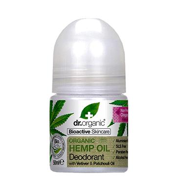 Dr Organic Дезодорант с конопляным маслом