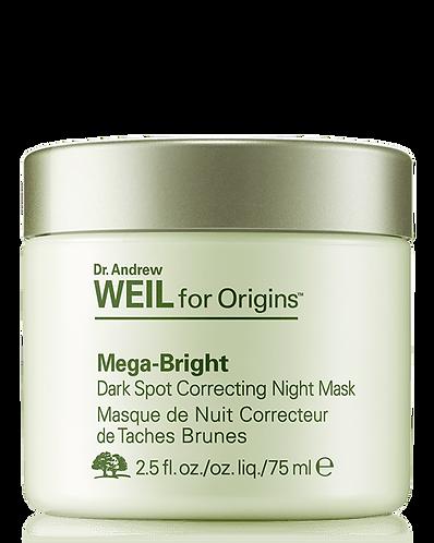 ORIGINS Mega-Bright Ночная маска, осветляющая пятна
