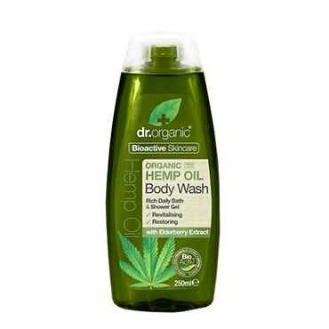 Dr Organic Гель для душа с конопляным маслом