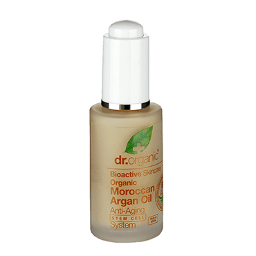 Dr Organic Система омоложения на основе стволовых клеток с аргановым маслом