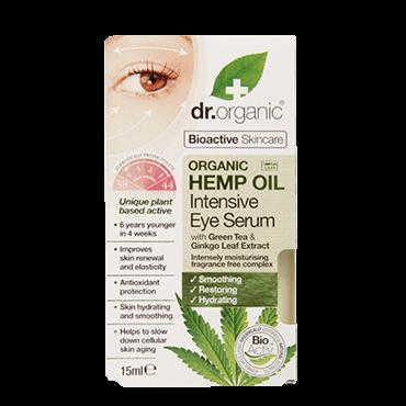 Dr Organic Сыворотка для кожи вокруг глаз с конопляным маслом