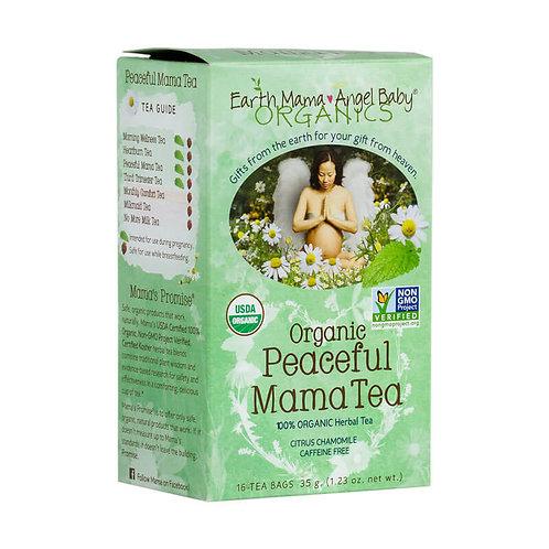 Earth Mama Умиротворяющий чай для будущих мам, органик