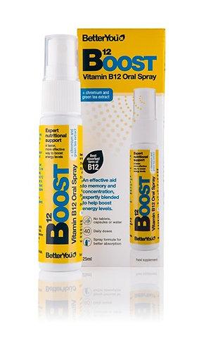 Better You Boost B12. Витамин В12 в форме спрея